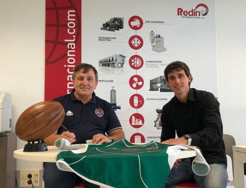 REDIN INTERNACIONAL PATROCINADOR PRINCIPAL DEL IRUÑA RUGBY CLUB